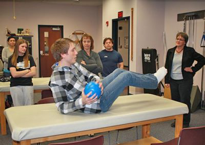 physical therapist assistant students