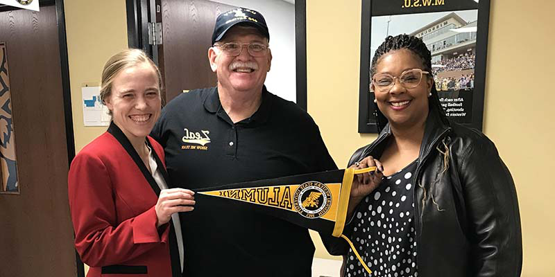 Veterans Upward Bound visited MWSU Admissions